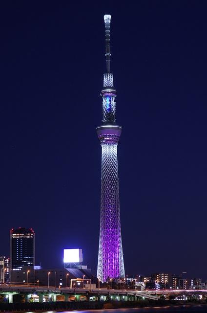 東京スカイツリー クリスマス・スペシャルライティング Tokyo Sky Tree with Christmas Specal Lighting