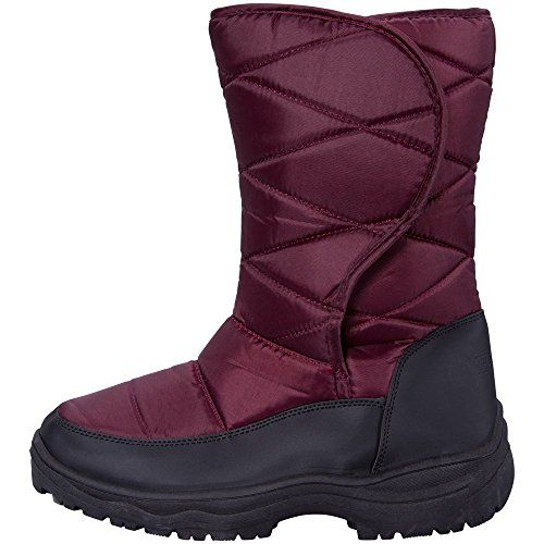 Mountain Warehouse Ice Womens Snow Boots Burgundy 7 M US Women *** Details can be found by clicking on the image.