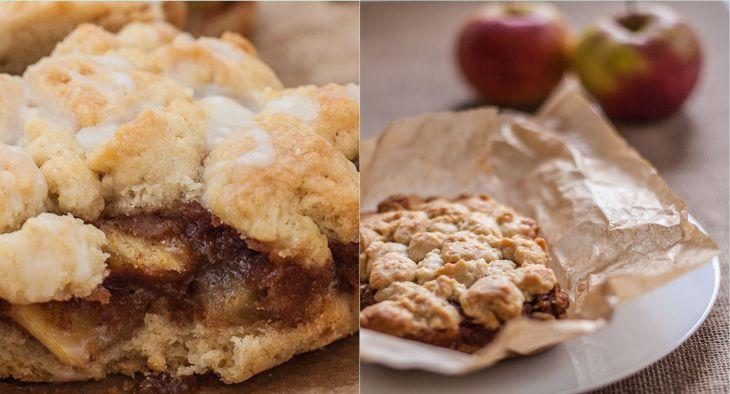 Backen macht glücklich | Apple-Streusel-Bars: Herbstliche Apfelkuchen-Riegel | http://www.backenmachtgluecklich.de