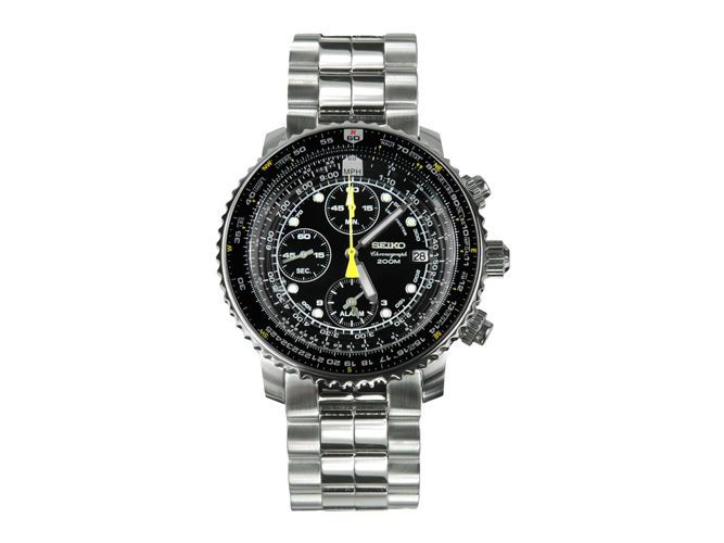 Seiko SNA411 Flight Alarm Chronograph Watch - The Best Affordable Watches | Complex