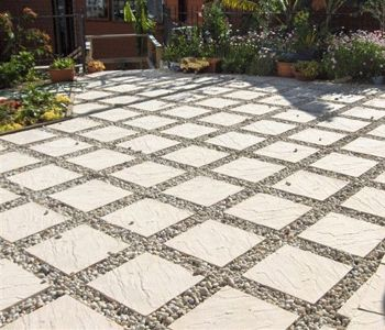 Most widely used concrete slab paving myhomeimprovement for Besser block pool