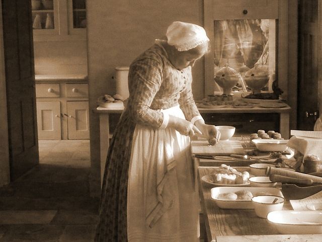 A VICTORIAN KITCHEN  In audley end house uk