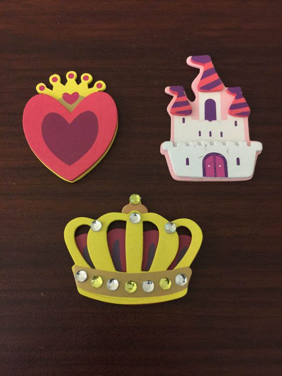 Painted Wood Outlet Covers - Princess Theme Decor - Princess Bedroom Decorations for Girl -Girl Nursery Decor -Decorative Outlet Covers