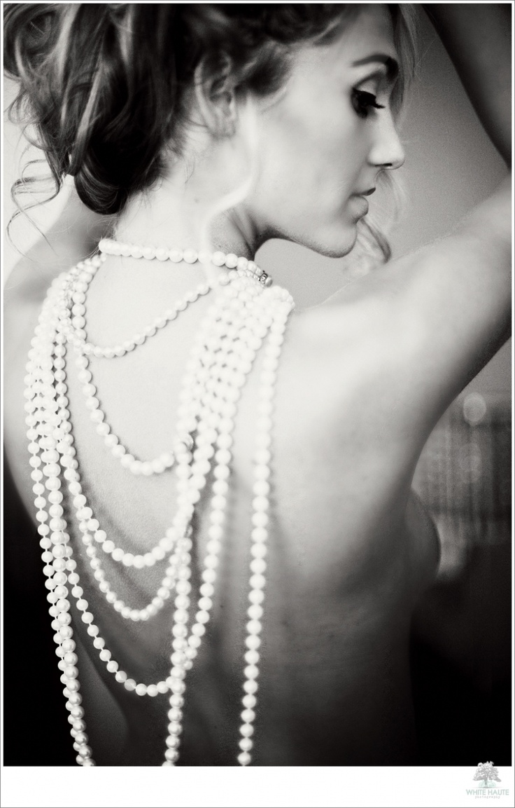 Pearls are classic and versatile in your shoot. I have several in the studio.