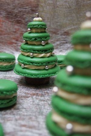 Amazing cakes/macaroons.  Would totally love to make these!  #myhappychristmas @White Stuff UK