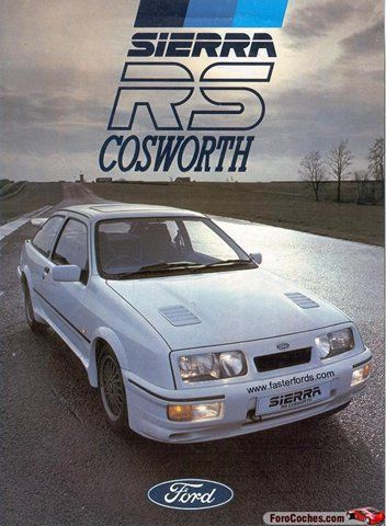 Ford Sierra RS Cosworth...wanted this sooooo much!