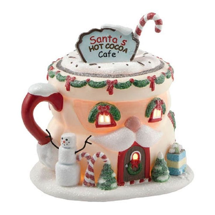 WANT: North Pole Santa's Hot Cocoa Cafe