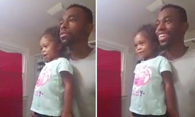 Video: vader geeft dochter dagelijks lesje zelfvertrouwen en respect. Way to go daddy!