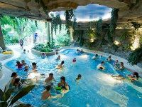 Elveden Forrest Centre Parcs Village. Many activities including the Aqua Sauna day spa.