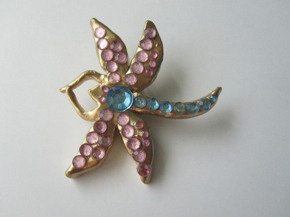 Coraline Dragonfly Hair Clip by drewhitney on Etsy