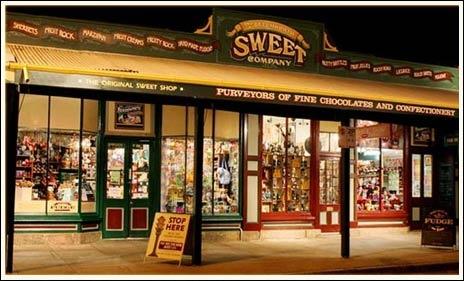 The Beechworth Sweet Company : Beechworth Sweet Co. : Beechworth North East Victoria Australia