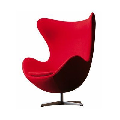 """This is listed as an """"egg"""" chair, but I think it is really a womb or swan chair.  If I can't find a true egg chair for my son, this is a good substitute."""