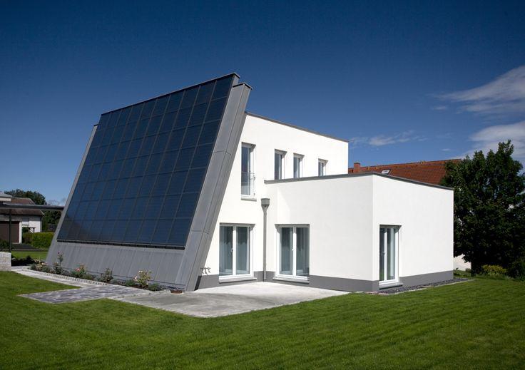 Sun House with GEALAN windows #formfollowsenergy #sunhouse #frenchwindows