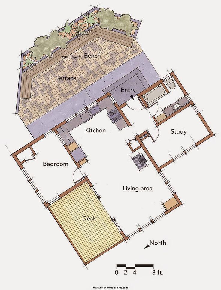 Fine homebuilding house plans for Fine line homes floor plans