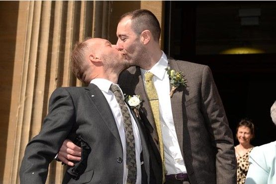 Same sex couples mark first anniversary