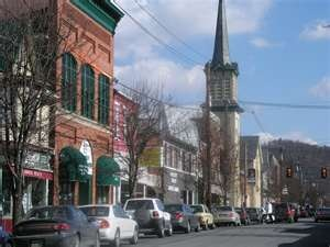 the biggest town where i grew up...huntingdon, pa