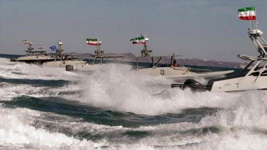 'Destructor de EEUU cambia de rumbo para esquivar a lancha iraní' - - HispanTV.com