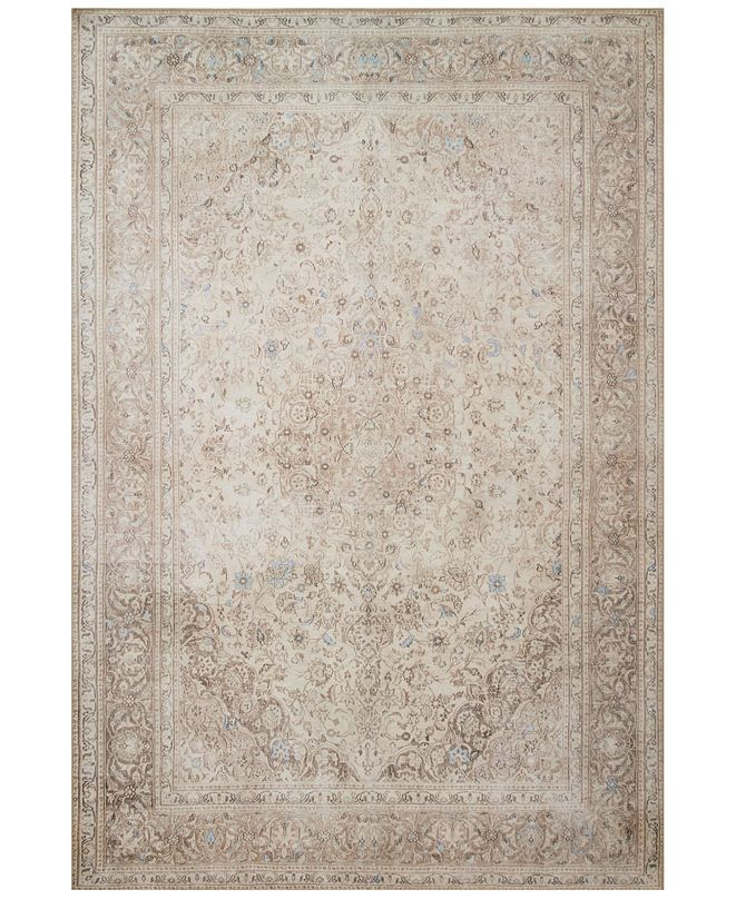 Loloi Loren Lq 03 Sand Taupe 5 X 7 6 Area Rug Reviews Rugs Macy S In 2020 Loloi Area Rugs Neutral Beige