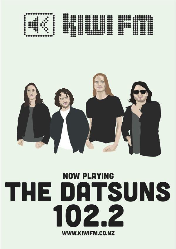 The Datsuns for Kiwi fm