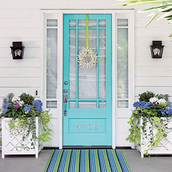25 Best Ideas About Benjamin Moore Turquoise On Pinterest: 17 Best Ideas About Aqua Front Doors On Pinterest