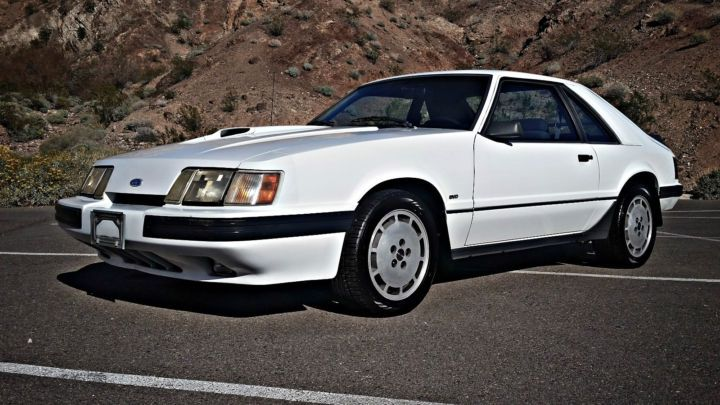 Last of the Breed: Well-Preserved 1986 Ford Mustang SVO w/ No Reserve
