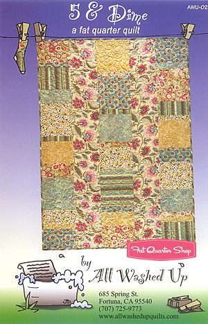6 fat quarters and 1 7/8 yards focus fabric- would this work with the large-scale Loulouthi print?
