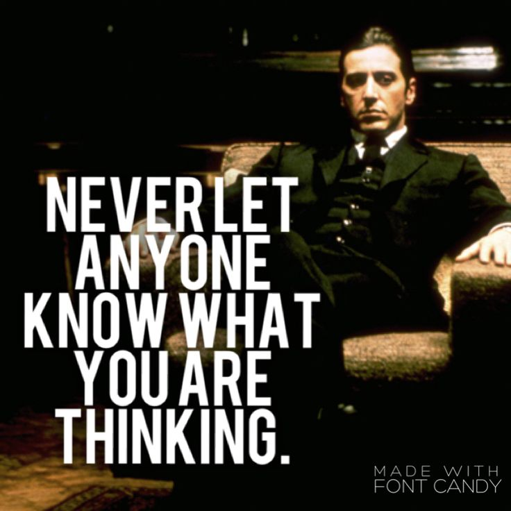 The Godfather Quotes About Family: 17 Best Michael Corleone Quotes On Pinterest