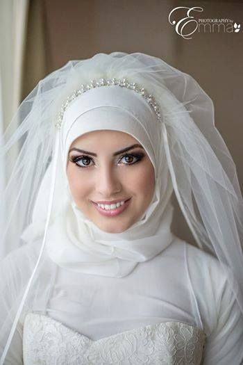 Wedding Hijab By Hijabs by Hanan #PerfectMuslimWedding
