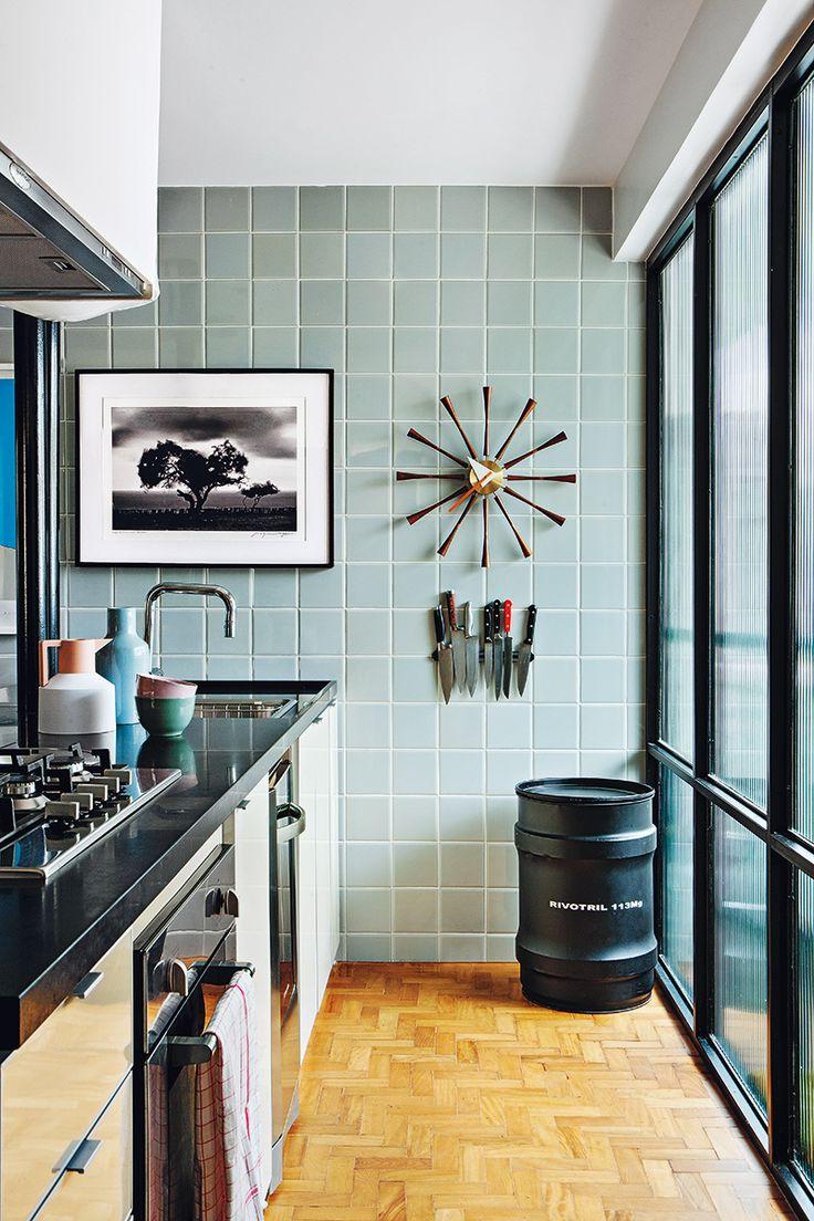La casa del arquitecto maur cio arruda en sao paulo for Azulejo de la pared de la cocina verde