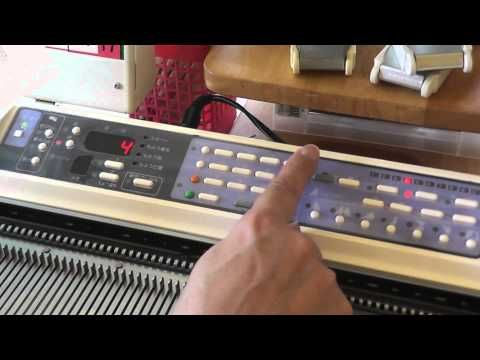 Video about making a lace punch card from a traditional lace chart
