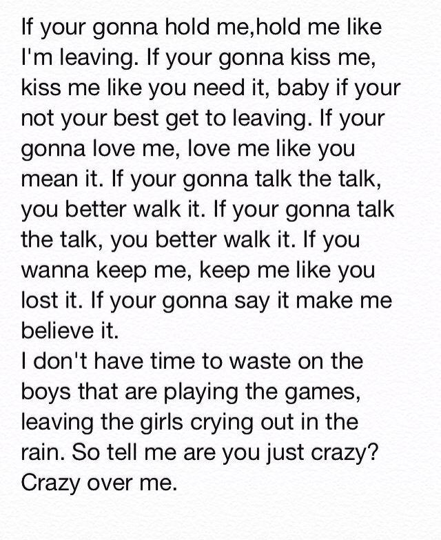 I like you song lyrics