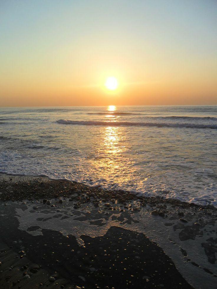 Sunrise at Mersin, Turkey