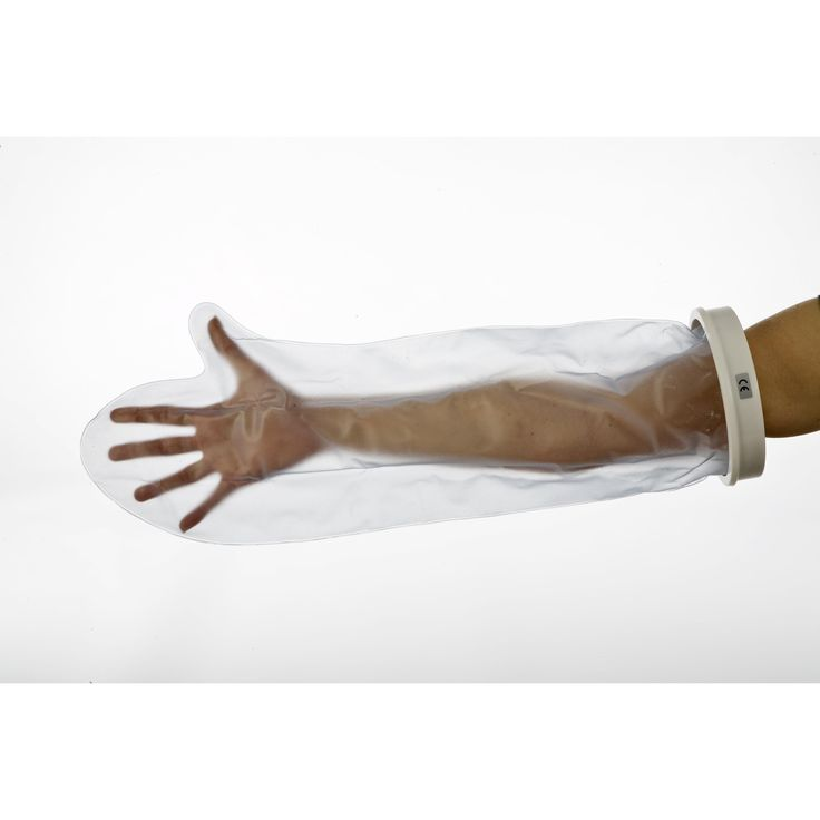 Beschermhoes onderarm  Bescherming voor gipsbandages tijdens het douchen. Door de unieke afsluiting is de hoes zeer gemakkelijk met één hand aan te brengen.  EUR 14.04  Meer informatie