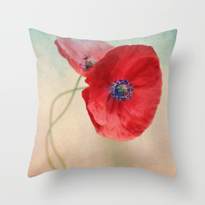 Buy Poppies vintage(5) Throw Pillow by maryberg. Worldwide shipping available at Society6.com. Just one of millions of high quality products available.