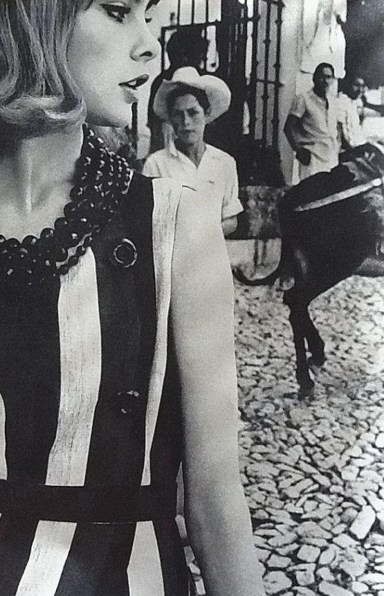 Vogue UK January 1963 JeanShrimpton photographed byDavid Bailey