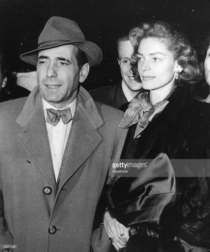 humphrey bogart   American actress Lauren Bacall , formerly Betty Joan Perske arriving ...
