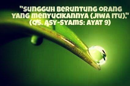 Beruntung Orang yang menyucikan jiwanya   #islam #subuh #pejuangsubuh #katamutiara #motivasi #semangat #pagi #teladannabi