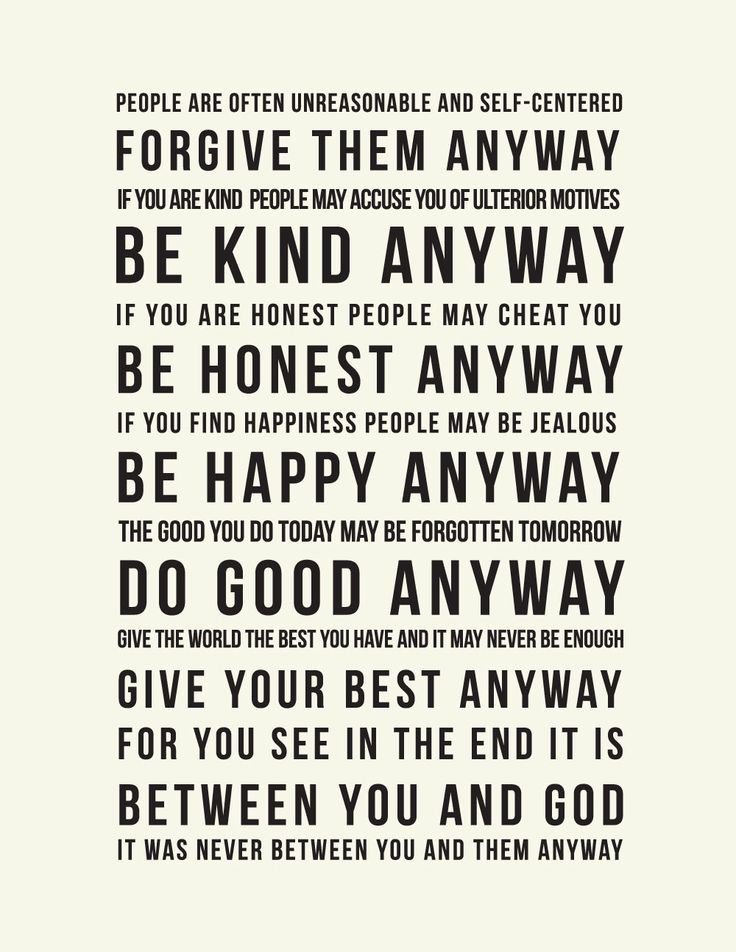 One of my favorites, been thinking about making a canvas or something for my office so I can see it every day, | Inspirational Mother Teresa Quote : Do it Anyway. $15.00, via Etsy.