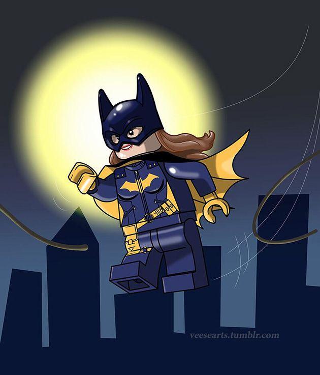 Lego Batgirl by Dan Veesenmeyer