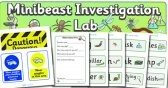 Minibeast Investigation Lab Role Play Pack
