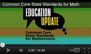 This video introduces teachers to the Common Core State Standards for mathematics, their purpose, and their potential impact on you and your students. #CCSS