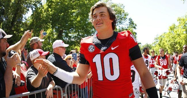 Former Georgia assistant coach Mike Bobo warns Bulldog fans not to hype Jacob Eason into something he can never live up to in Athens.