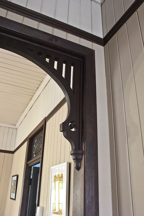 I just love the old fretwork!