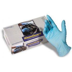 KC Kleenguard G10 kék nitril kesztyű