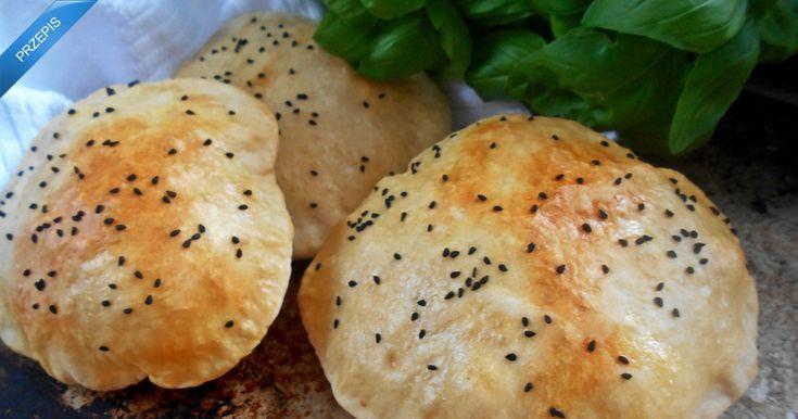 Chlebek arabski z czarnuszką