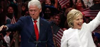 Lynch meeting latest blow to Clinton trust. (AP)
