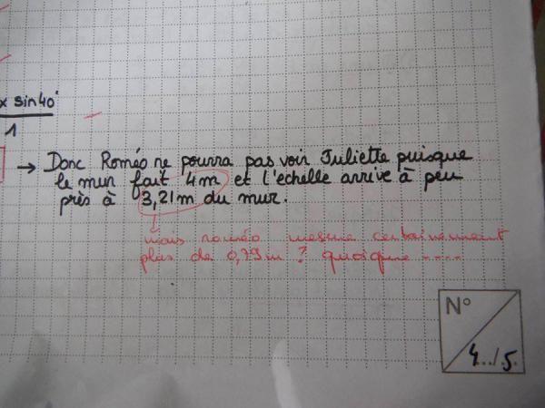 On vous montre les meilleures corrections des profs !