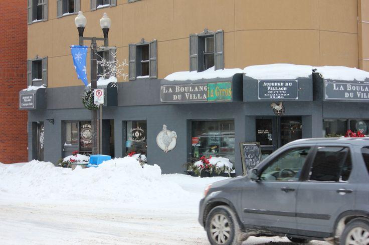 La Boulangerie du Village in Downtown Sudbury.