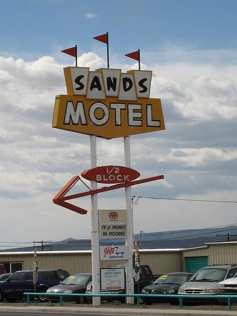 Sands Motel neon sign
