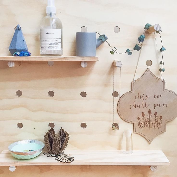 Pegboard (by confetti tree) inspo